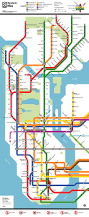 Bronx Map Fantasy Map New York Subway Map In The Style Of Transit Maps