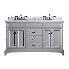 Bathroom Cabinets Bed Bath And Beyond Double Bathroom Vanities Bed Bath U0026 Beyond