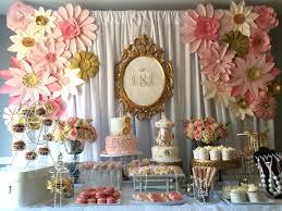 dessert table backdrop dessert table backdrop with paper flowers desert tables
