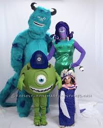 Halloween Costumes Monsters Monsters Family Halloween Costumes