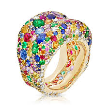 coloured gemstones rings images Emotion multi coloured ring faberg rings faberg com jpeg