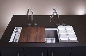 kohler karbon kitchen faucet kohler karbon articulating deck mount kitchen faucet gadget flow