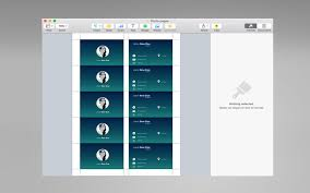 business cards templates for pages on the mac app store
