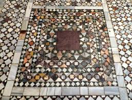 mosaic craft the tiled floors of st s basilica venice