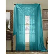 Sheer Teal Curtains Turquoise Curtains