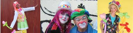 clowns for a birthday party clowns and characters for kids