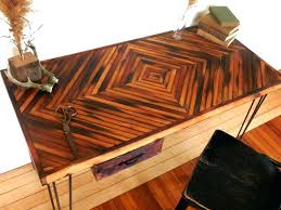 Reclaimed Wood Reception Desk Articles With Reclaimed Wood Table Top Tag Enchanting Reclaimed