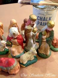 home interior nativity set thrift store nativity our southern home