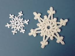 easy crochet snowflake ornaments how to tutorial