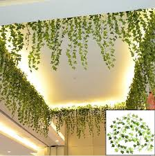 ivy home decor boston ivy artificial fake leaf garland plant vine foliage party