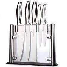 maxam stainless steel knife set kitchen u0026 steak knives ebay