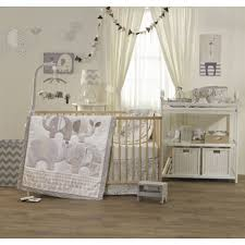 Boho Crib Bedding by