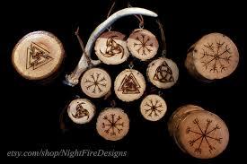 symbol viking ornaments coasters by kfnight fire23 on
