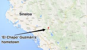 Old Mexico Map by Mexican Marines Raid U0027el Chapo U0027 Hometown La Tuna Business Insider