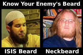Neckbeard Meme - isis beard or neckbeard texas church shooter preached atheism