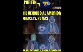 Memes De Pumas Vs America - el pase de pumas a la final en memes la silla rota