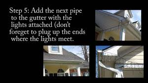 how to hang icicle lights how to hang icicle christmas lights to your gutter inexpensive