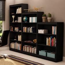 South Shore Axess Bookcase Incredible South Shore Axess Collection 4 Shelf Bookcase Black