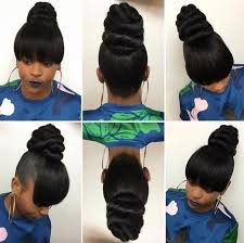 black hair buns the 25 best ninja bun ideas on pinterest black hair knot styles