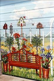 Garden Fence Decor Garden Ideas Fence Decoration Ideas Garden Wall Art Garden Fence