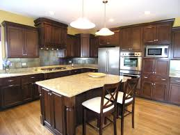 light colored kitchen cabinets dark staining maple wood cabinets stained kitchen floors with