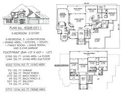 5 bedroom 3 bath floor plans one story 5 bedroom house plans sl0tgames club