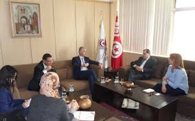 chambre de commerce tunisie visite de la chambre de commerce tuniso britannique à la chambre de
