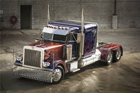1992 peterbilt 379 u0027transformers optimus prime u0027 stunt truck 190024