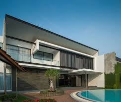 modern d s house located in jakarta by dp hs architects