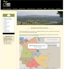 San Jose District Map by Greeninfo Network Information And Mapping In The Public Interest