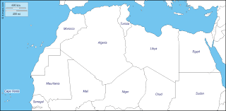 Morocco Africa Map by North Africa Free Map Free Blank Map Free Outline Map Free