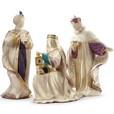 Home Interior Figurines First Blessing Nativity Three Kings Figurine Set Christmas Gifts