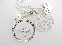 Personalized Children S Jewelry Flower Gift Children U0027s Jewelry Personalized Wedding White