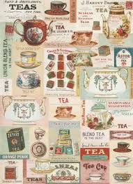 vintage wrapping paper cavallini vintage tea wrapping paper paper source