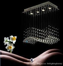 Modern Crystal Chandeliers Wave Crystal Chandelier For Kithen Modern Crystal Chandelier For