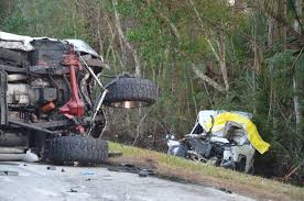 old truck jeep woman killed boy critical infant saved in head on crash on old