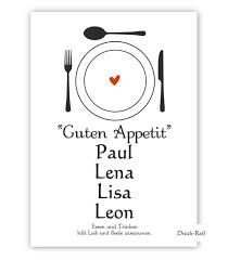 guten appetit sprüche zeit raum sprücheposter kunstdrucke poster mit motivatonen