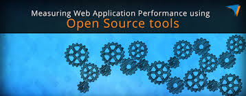 web application performance using open source tools