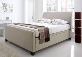 outstanding cavendish ottoman storage upholstered bed double dwell