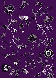 Dark Purple Area Rug T1006 Purple Black White 5 U00272 X 7 U00272 Floral Oriental Area Rug Carpet