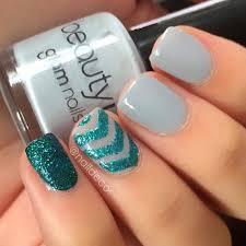 18 great nail designs for short nails nail design glitter and