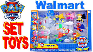 unboxing paw patrol walmart toys for