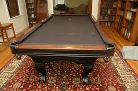 brunswick slate pool table billiard items include brunswick green briar ii pool table with