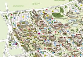 Michigan State University Map by Campus Maps