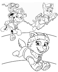 Free Nick Jr Paw Patrol Coloring Pages Nick Jr Coloring Pages