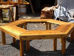 Bench Around Tree Plans Bench Wrap Around Tree Bench How To Build A Bench Around The