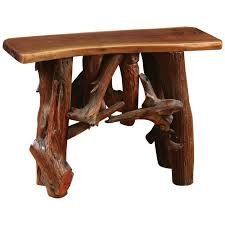 Rustic Sofa Table by Rustic Sofa Table 06 1703 Amish Oak Cabin Furniture Made In Usa