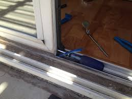 Removing Sliding Patio Door Sliding Patio Door Repair Polished Brass Handle Solid Hardwood