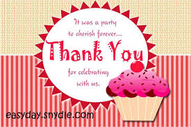birthday thank you notes baby shower thank you notes easyday