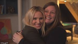 kristen bell surprises her sister in michigan daily mail online